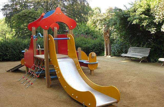 dětské hřiště Vojanovy sady