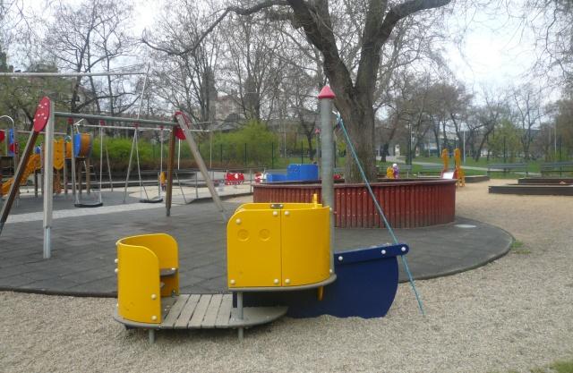 dětské hřiště Vrchlického sady